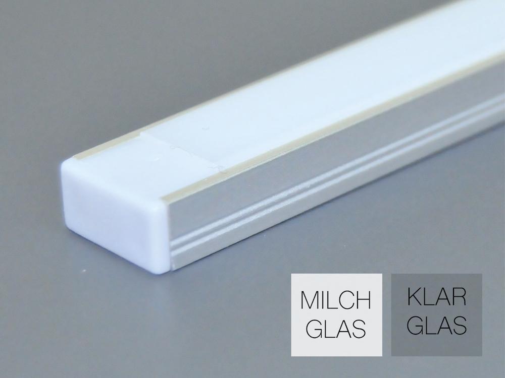 Aluminiumprofil AP-10 für LED Bänder