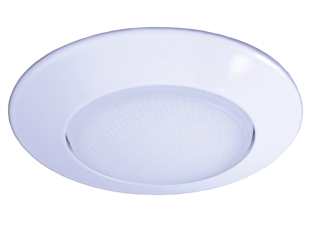 GX53 Einbaustrahler Weiß ohne Leuchtmittel