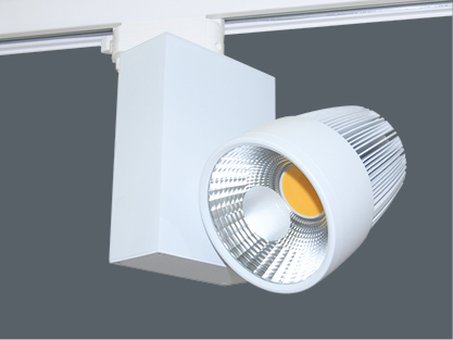 Mid-Frosted Optik für 20W LED Schienensystemleuchte