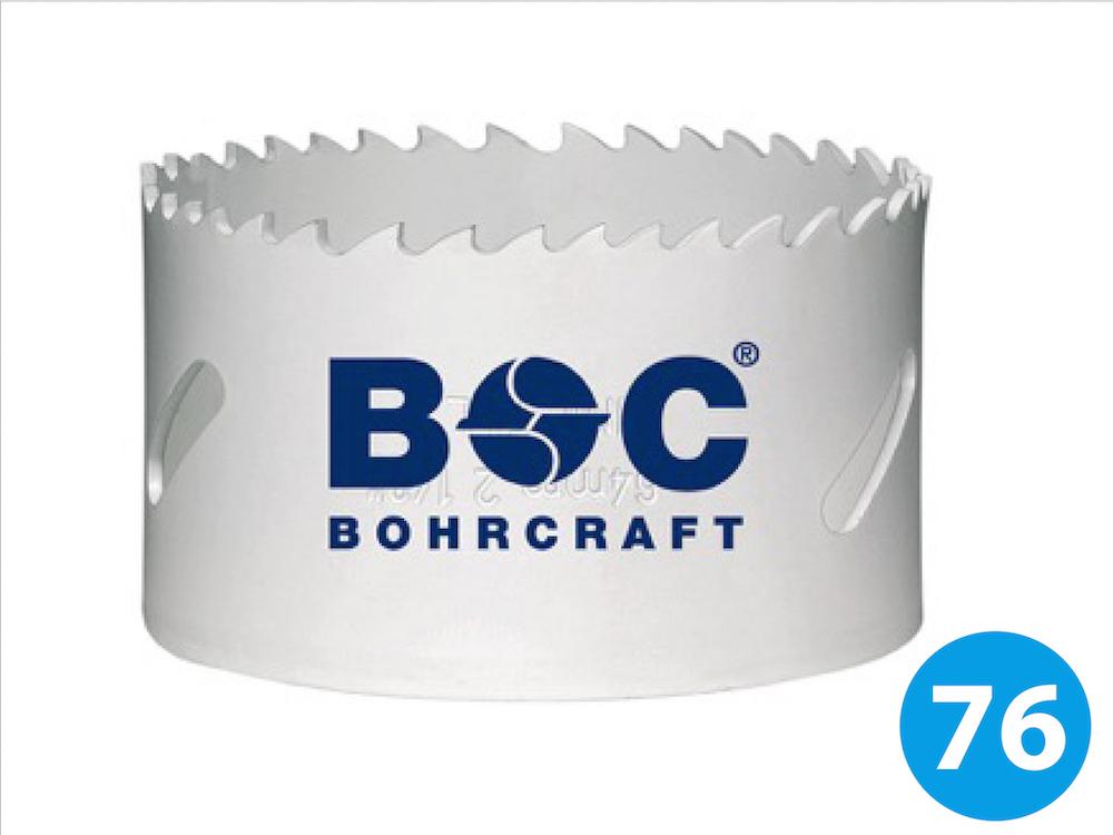 BiMetall Lochsäge ø76 mm HSS-E kobaltlegiert