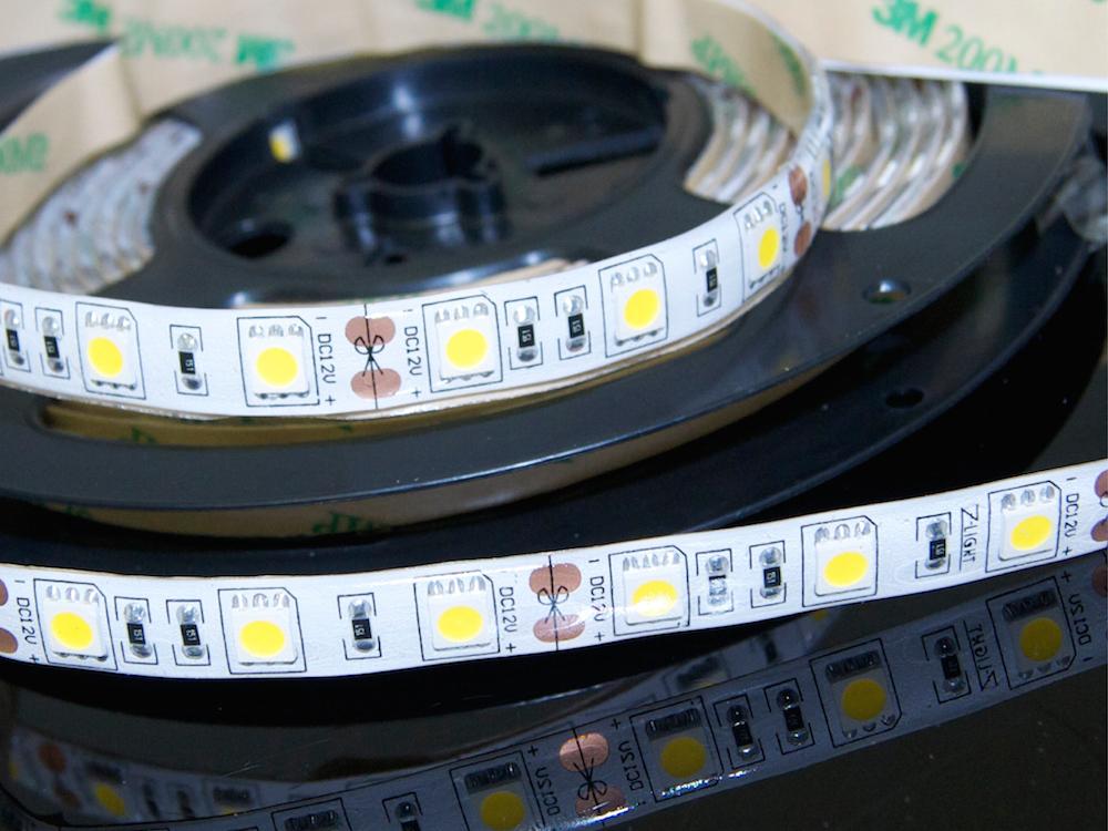 LED Band 60 x 5050 Warmweiß – Wasserdicht