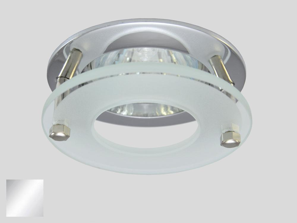 Einbaustrahler ZL-1601P Chrom / 3W GU10 - Warmweiß