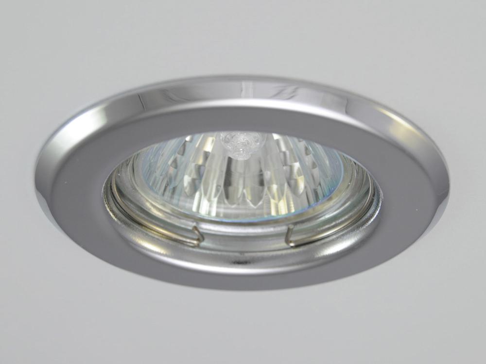 Einbaustrahler ZL-1650 Chrom / ohne Leuchtmittel